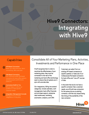 Hive9 Integrations Flyer