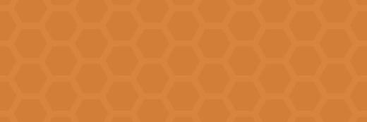 hexagons-orange